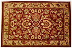 パキスタン絨毯・ダブル織りイメージ