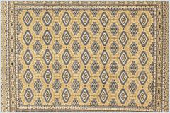 パキスタン絨毯・シングル織りイメージ